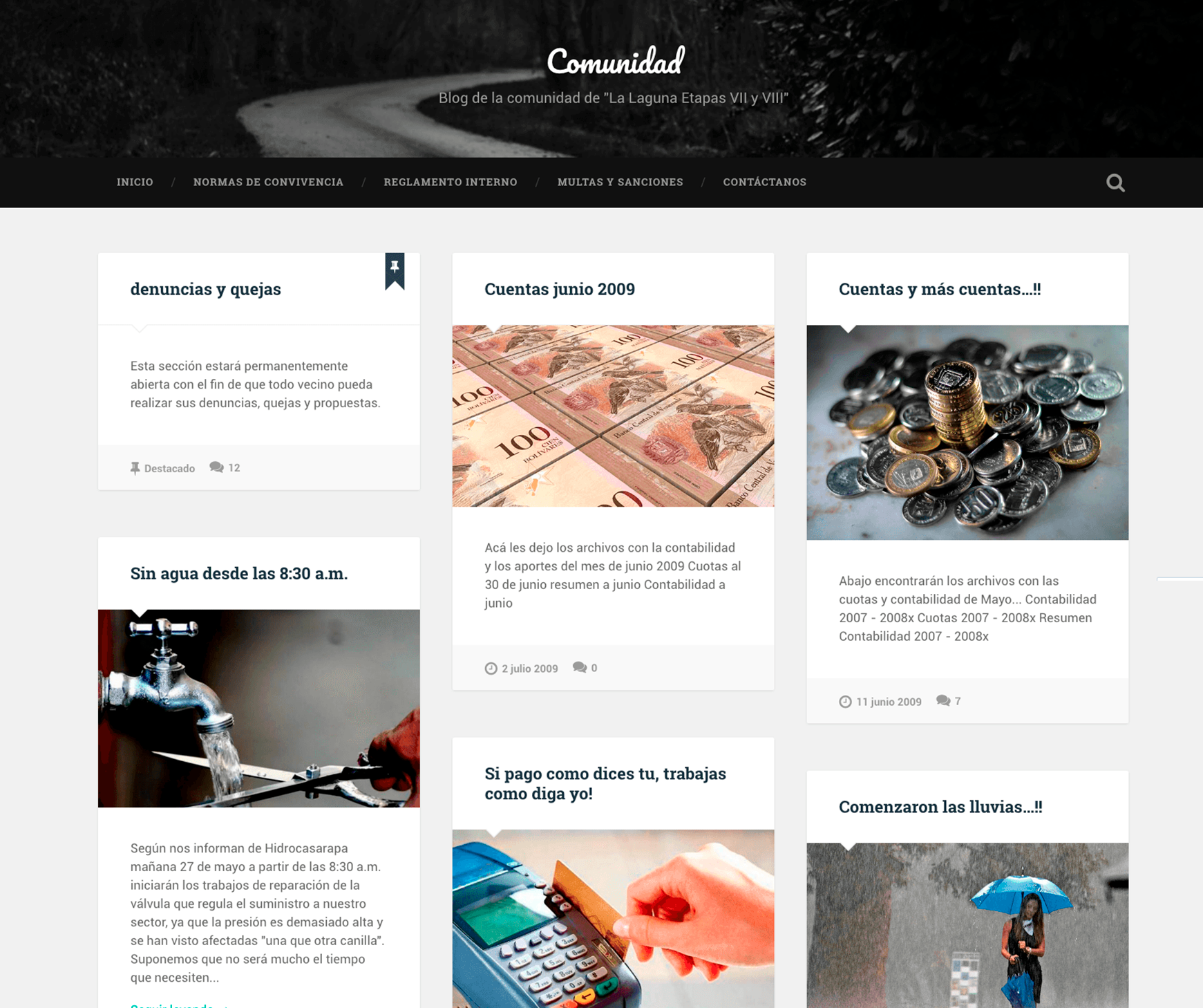 Comunidad - Blog