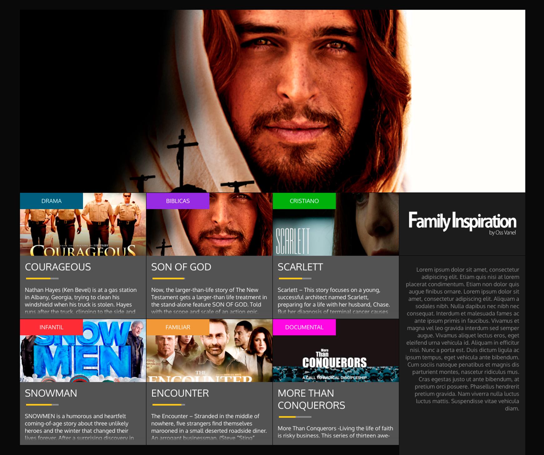 Family Inspiration - Portafolio Audiovisual