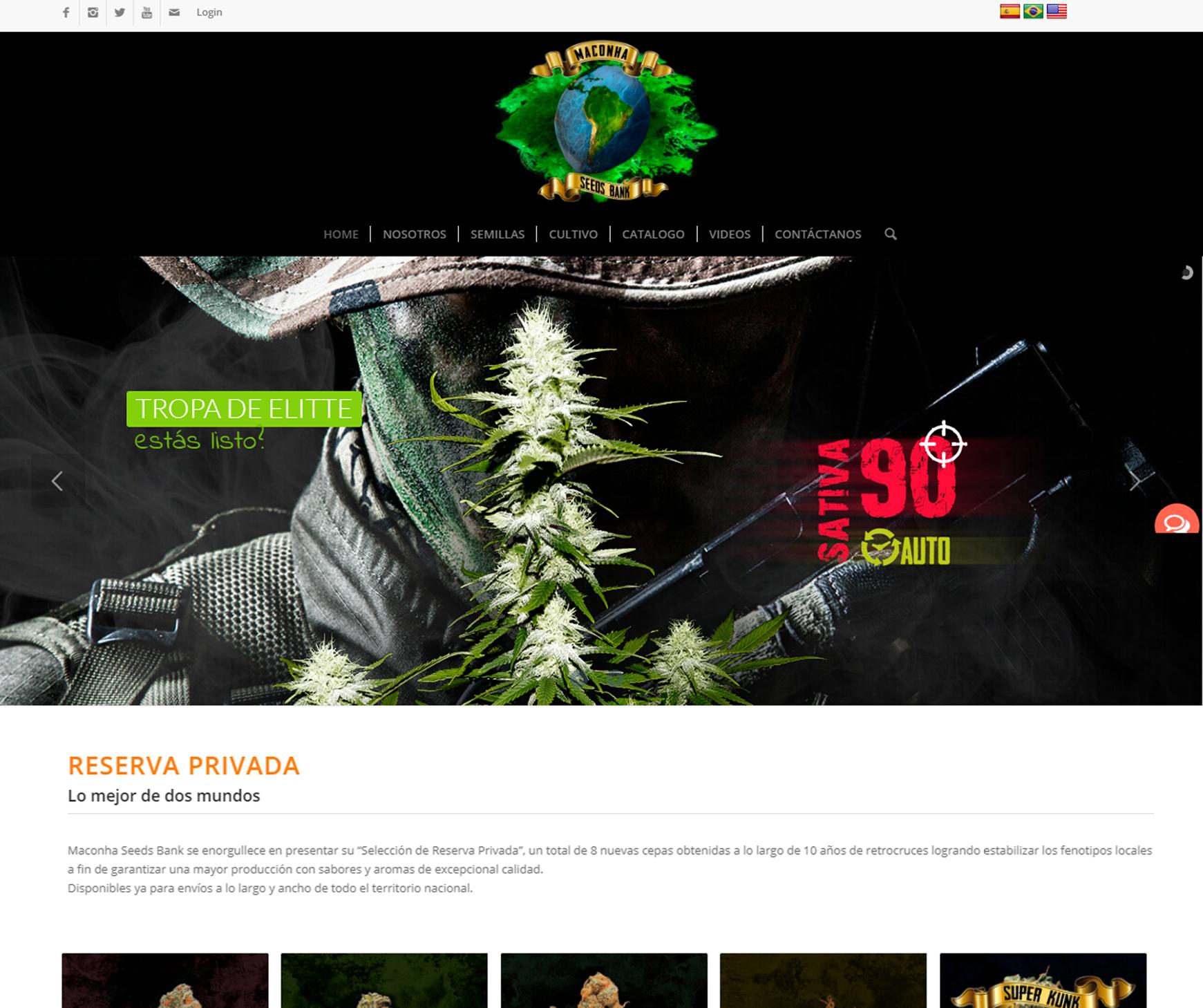 Maconha Seeds Bank - Brand