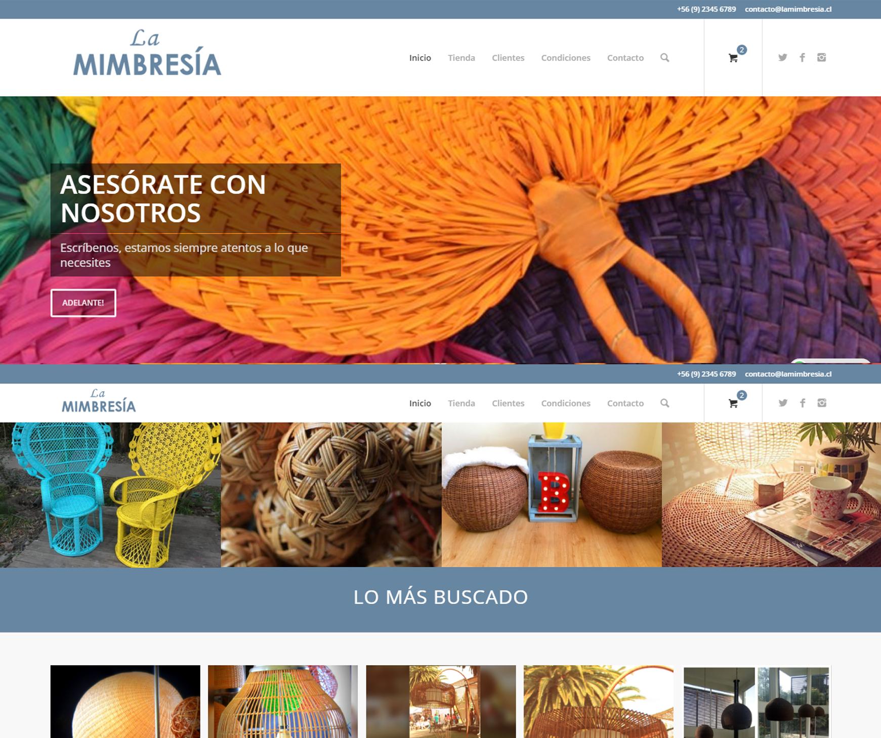 La Mimbresia - E-commerce